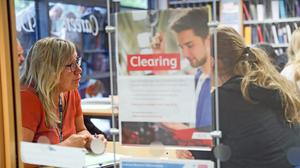 Clearing has become an increasingly popular route to securing a university place (Andrew Matthews/PA)