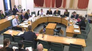 The House of Commons Education Select Committee heard evidence about sex education in schools