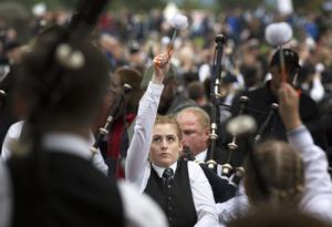 Glasgow first hosted the World Pipe Championships in 1948 (David Cheskin/PA)