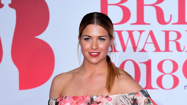 Gemma Atkinson has paid tribute to victims on anniversary of Manchester bombing (Ian West/PA)