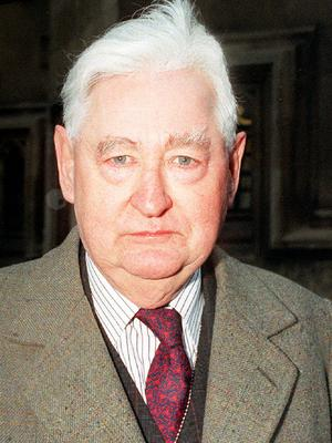 Lord Bramall in 1995 (Neil Munns/PA)