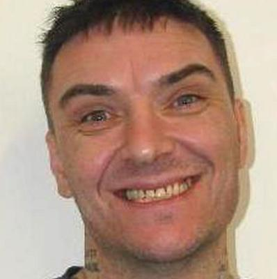Damien Burns, 39, originally from Scarborough, North Yorkshire, who alongside Dean Jackson, 27, from Newcastle-upon-Tyne has absconded from the category D Hatfield Prison