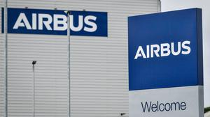 Katherine Bennett, senior vice president of Airbus, met with Labour leader Sir Keir Starmer and Wales's First Minister Mark Drakeford (Ben Birchall/PA)