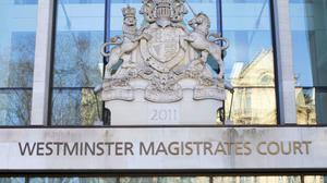 The 14-year-old appeared at Westminster Magistrates (PA)