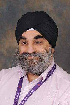 Manjeet Riyat (University Hospitals of Derby and Burton NHS Trust/PA)