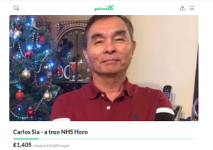 A GoFundMe has been set up in memory of Mr Sia. (GoFundMe)