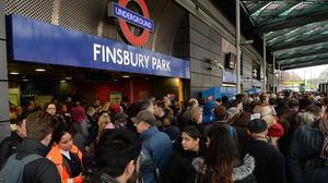 Travellers were locked out of Finsbury Park station during part of December 27