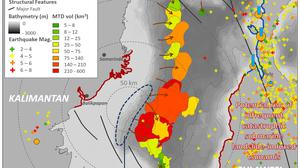 The researchers found evidence of underwater landslides (Geological Society/PA)