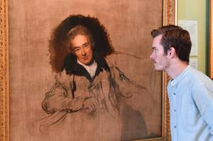 The portait of William Wilberforce at the National Portrait Gallery in London (John Stillwell/PA Archive)