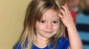 Madeleine McCann was abducted on May 3 2007 (PA)