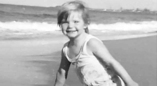 Cheryl Grimmer, aged three (Family handout)