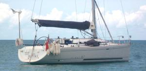 The Cheeki Rafiki, which capsized in the North Atlantic killing four crew members (Royal Yachting Association/PA)