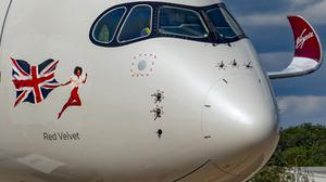 Virgin Atlantic says it is flying 'almost empty' planes (Virgin Atlantic Airways/PA)