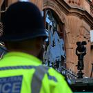 Facial recognition cameras have been trialled in the West End of London (PA)