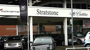 Stratstone Cadillac dealership, owned by Pendragon (Peter Byrne/PA)