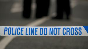 Peter McCombie died in hospital after being knocked down by a cyclist in Bow Road (Peter Byrne/PA)