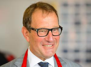 Richard Desmond and the minister have been caught in controversy (Dominic Lipinski/PA)
