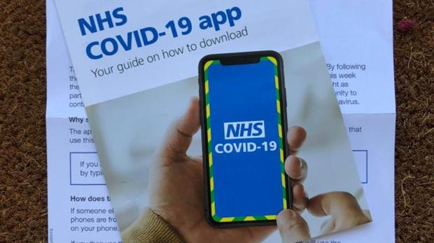 Isle of Wight residents are using the Government's NHS Covid-19 app (Andrew Nordbruch/PA)
