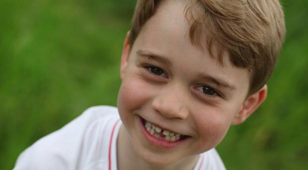 Prince George is turning six (Duke and Duchess of Cambridge)