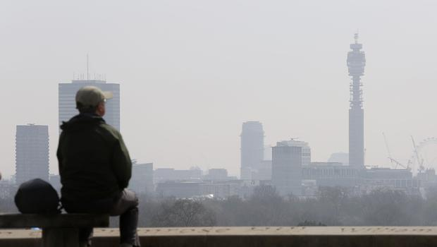The WHO report suggested levels of air pollution in a number of UK cities was unsafe (Philip Toscano/PA)