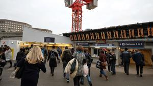 Long-running improvement work at London Bridge station has caused disruption to services