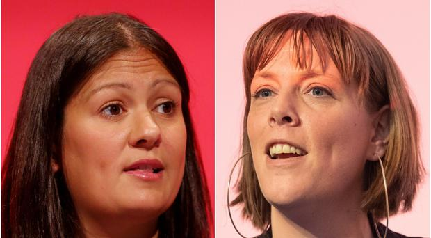 Lisa Nandy and Jess Phillips have both launched a bid to become Labour leader (Gareth Fuller/Dominic Lipinski/PA)