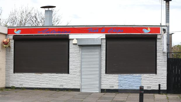 The takeaway in Blyth, Northumberland used by Bariana (Owen Humphreys/PA)