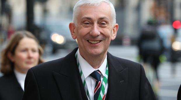 Commons Speaker Sir Lindsay Hoyle said it could cost £50,000 per bong (Jonathan Brady/PA)