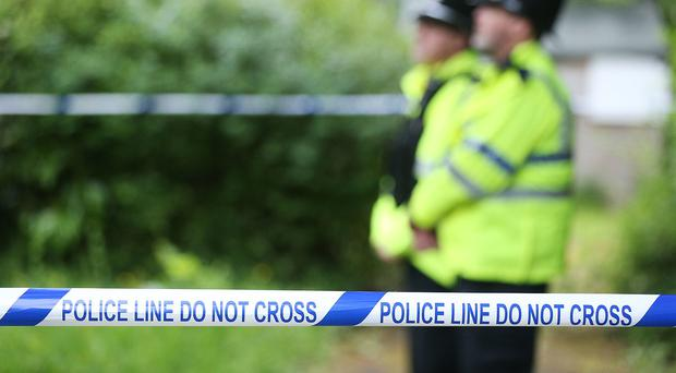 Police have linked the find to a murder in north London (Jonathan Brady/PA)