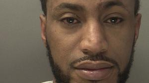 Meron Gerbu, who was jailed for 18 months for kissing a terrified pensioner after tricking his way into her block of flats (West Midlands Police/PA)