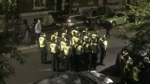 Police were forced to shut down an illegal house party at a property in Archway (Ravi Karas/PA)
