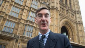 Eurosceptic Jacob Rees-Mogg arriving at the Houses of Parliament (PA/Dominic Lipinski)