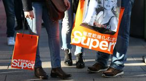 Superdry sales plunged in the past quarter (Steve Paston/PA)