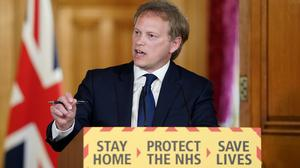 Transport Secretary Grant Shapps led the latest Downing Street briefing (Pippa Fowles/10 Downing Street/Crown Copyright/PA)