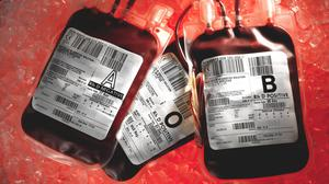 Blood type is determined by proteins on the surfaces of red blood cells (NHS Blood and Transplant/PA)