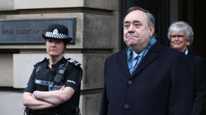 The Crown Office has expressed concern about Alex Salmond's evidence after he said the prosecution body was unfit for purpose (Andrew Milligan/PA)