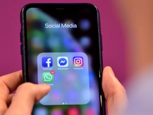Using social media can help you reconnect with past colleagues (Nick Ansell/PA)
