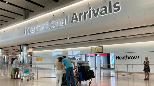 Guidance released on Monday said international arrivals will be required to self-isolate for 14 days in their accommodation (PA)