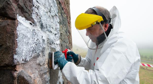 The new group will deal with vandalism to historic monuments (HES/PA)
