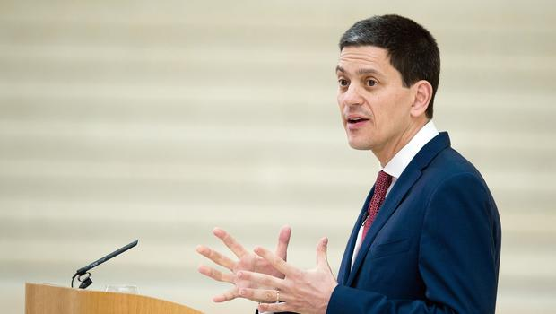 David Miliband has insisted that Labour must choose between backing a Tory Brexit or giving voters a final say on withdrawal (Leon Neal/PA)