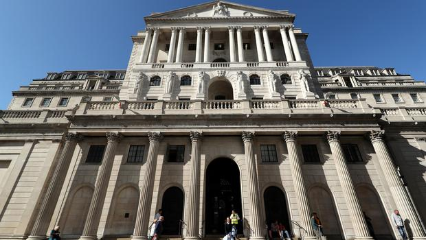 """File photo dated 20/9/2019 of the Bank of England, in the City of London. The Bank of England held interest rates last month, but economists said that a fall inflation could """"fan expectations"""" for a rate cut in the near future (Yui Mok/PA)"""