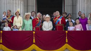 The royal family on the Palace balcony in 2019 (Victoria Jones/PA)