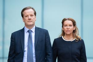 Charlie Elphicke's wife Natalie was among those to sign a letter to senior judges urging them not to publish character statements (Dominic Lipinski/PA)
