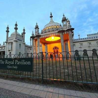 The Royal Pavilion in Brighton will be the venue for the UK's first same-sex wedding ceremony