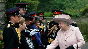 The Queen last visited the corps at Brompton Barracks in 2007