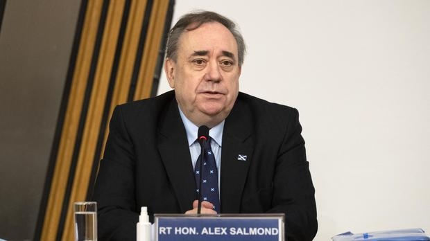The Scottish Government's investigation into the allegations against Alex Salmond was ruled unlawful (Andy Buchanan/PA)