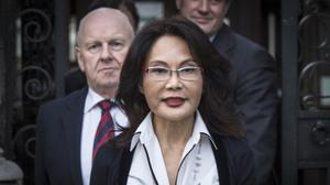 Pauline Chai returned to a divorce court for the latest round of a fight with Laura Ashley boss Khoo Kay Peng, (Lauren Hurley/PA)