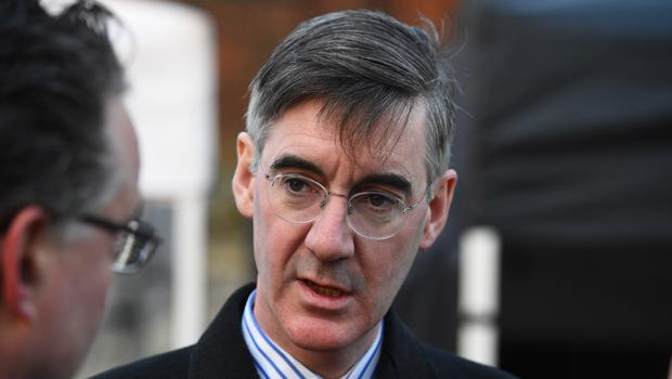 High-profile eurosceptic MP Jacob Rees-Mogg will appear at a fundraiser for the DUP next month, although has turned down a request to appear at a similar event for the Northern Ireland branch of the Conservative party (Kirsty O'Connor/PA)