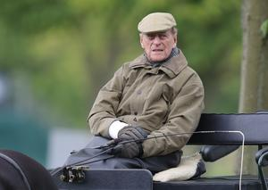 Well into his nineties, the Duke of Edinburgh drove carriages during the Royal Windsor Horse Show in Windsor (Andrew Matthews/PA)