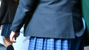Some parents in Northern Ireland are struggling to meet school uniform costs.